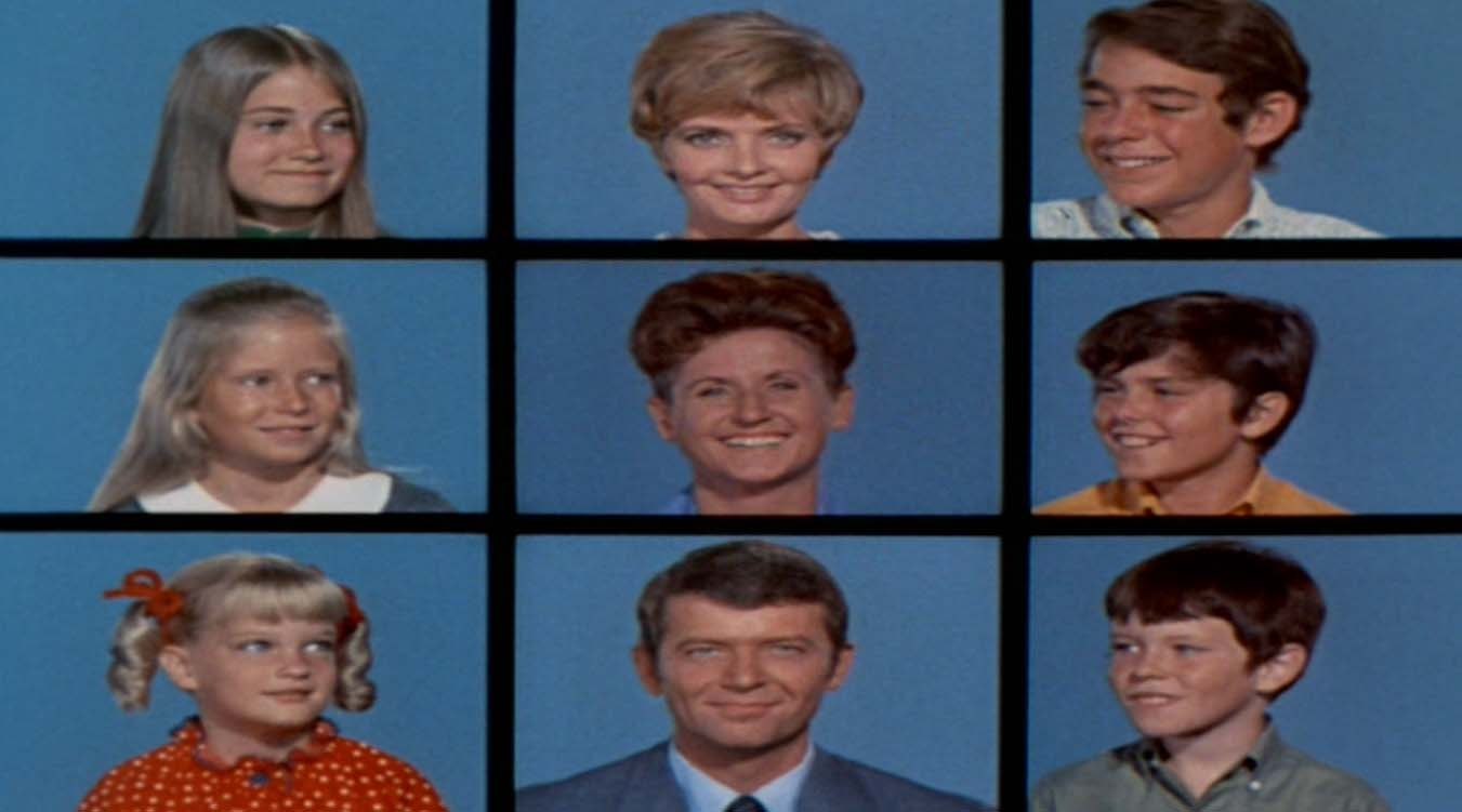 Brady Bunch is like blending bank cultures; Photo from Wikipedia and Paramount