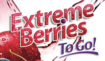 Extreme Berries to Go package art by MB Piland