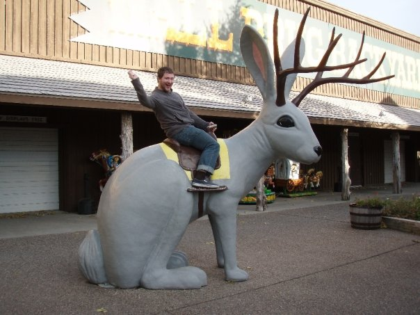 Wall drug jackalope helps us innovate. Photo by Mbailey.