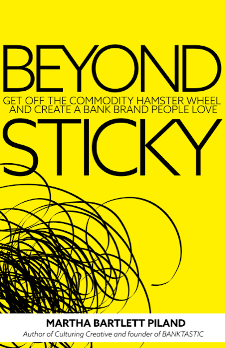 Beyond Sticky Cover Bank Marketing Book